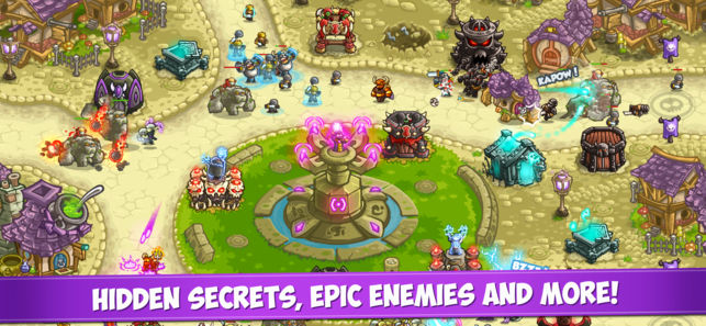 Kingdom Rush Vengeance gameplay